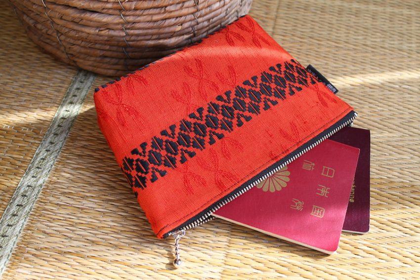 Pochette multi-usage – Kimono Rouge vif