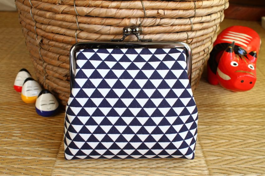 Squared change purse – Geometrical Patterns