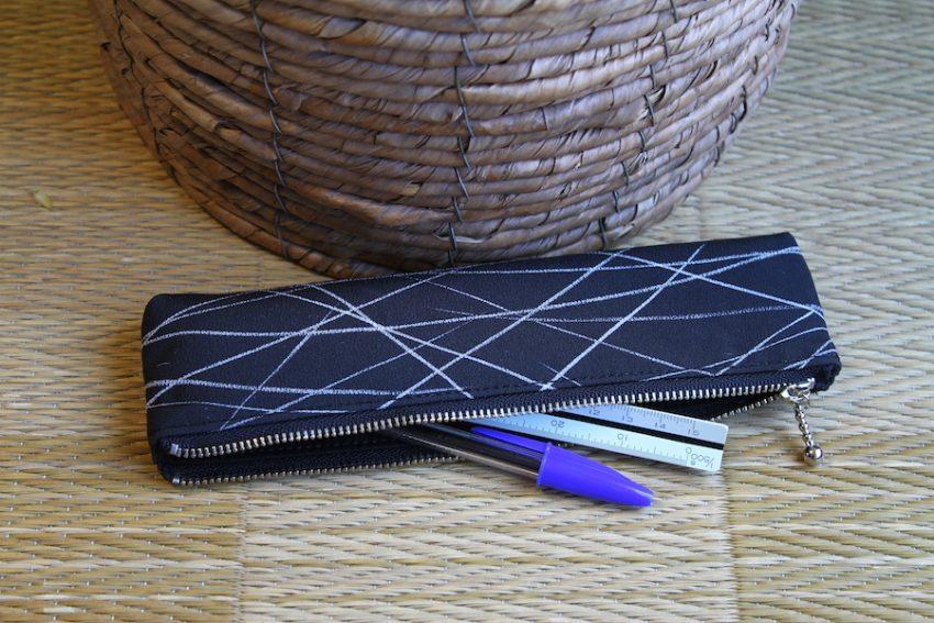 Trousse à crayons – Kimono Noir