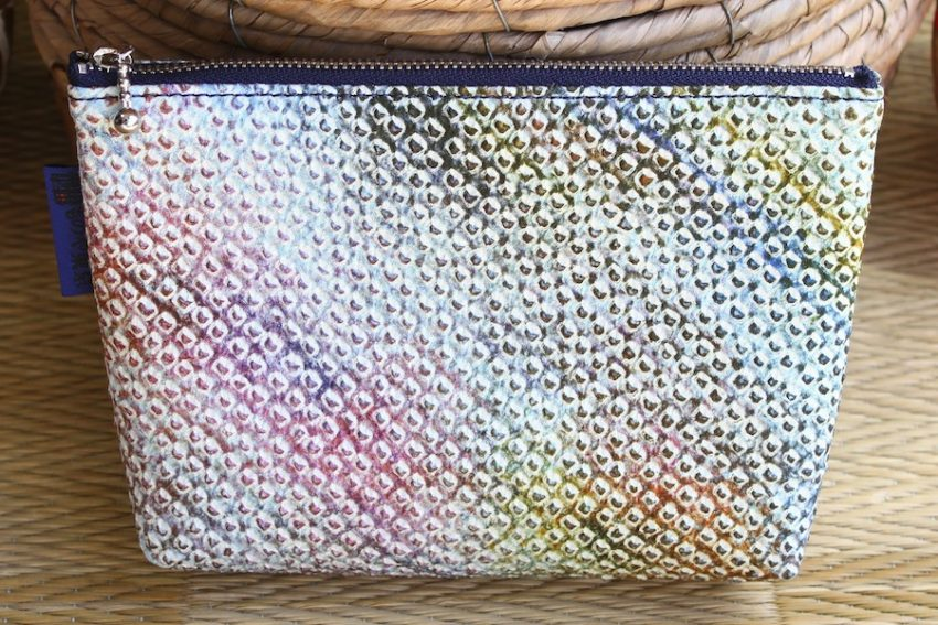 Pochette multi-usage – Shibori Dégradé