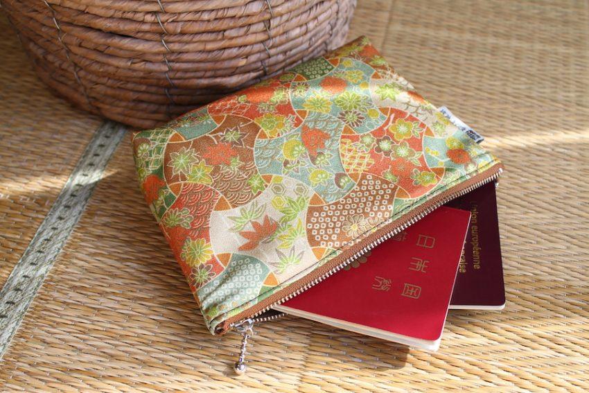 Pochette multi-usage – Kimono Automnal