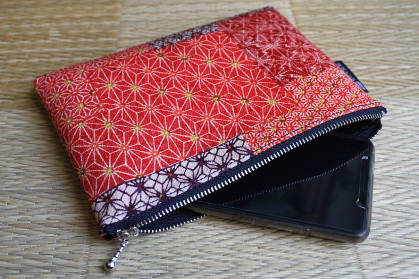 Pochette Fine – Rouge Asa no Ha