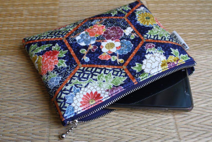 Pochette Fine – Kikko à fleurs