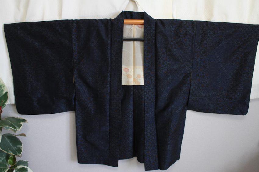 Vintage Haori Jacket – Dark Blue
