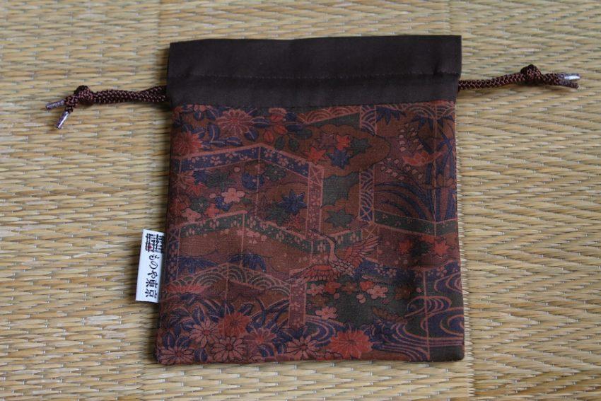 Bourse kinchaku – Estampes Japonaises – Niban