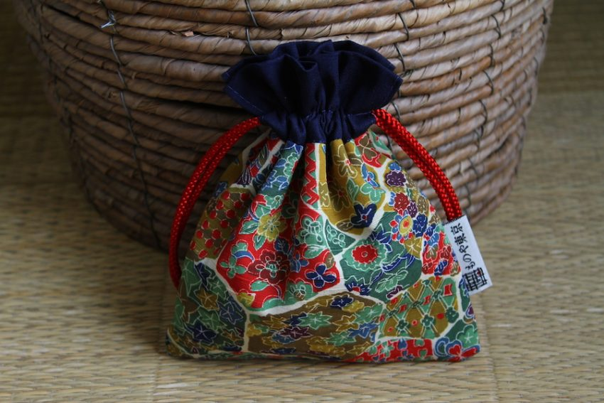 Bourse kinchaku – Kimono Nature