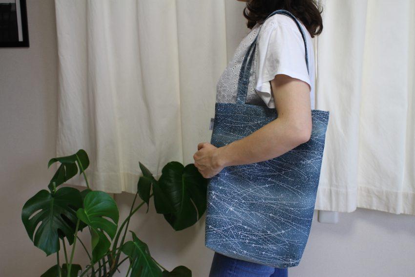 Totebag – Kimono Bleu Matsuba