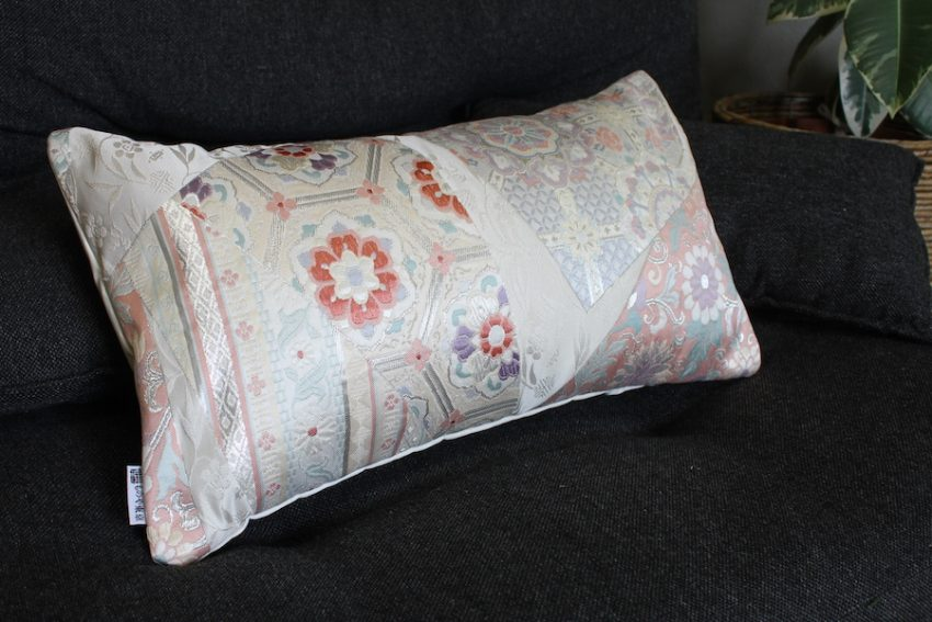 Cushion cover – Pink & Light Blue