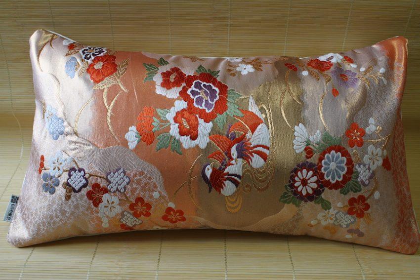 Housse de coussin – Oshidori à Fleurs