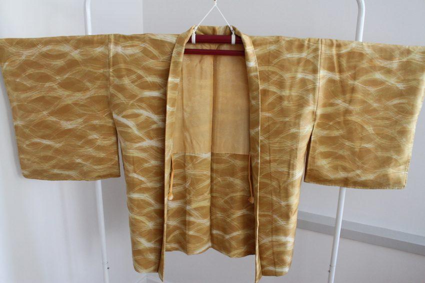 Veste Vintage Haori – Camel