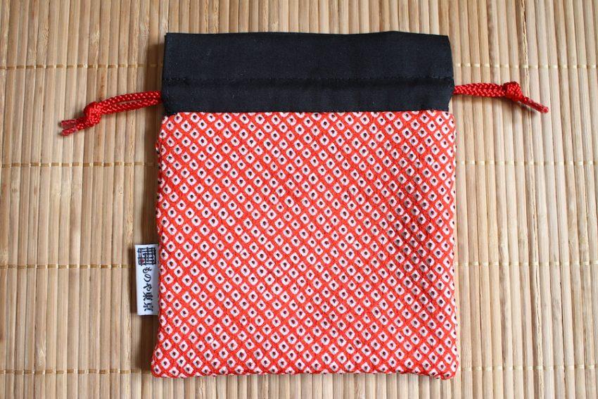 Bourse kinchaku – Kimono Rouge Shibori
