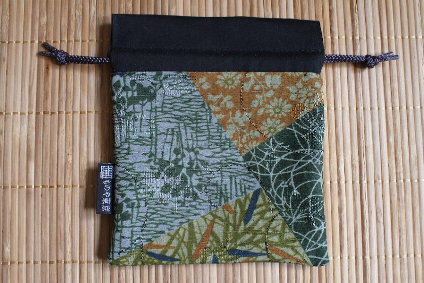 Bourse kinchaku – Kimono Shizen Patchwork