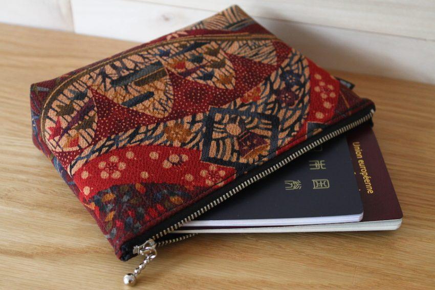 Pochette multi-usage – Kimono Violet