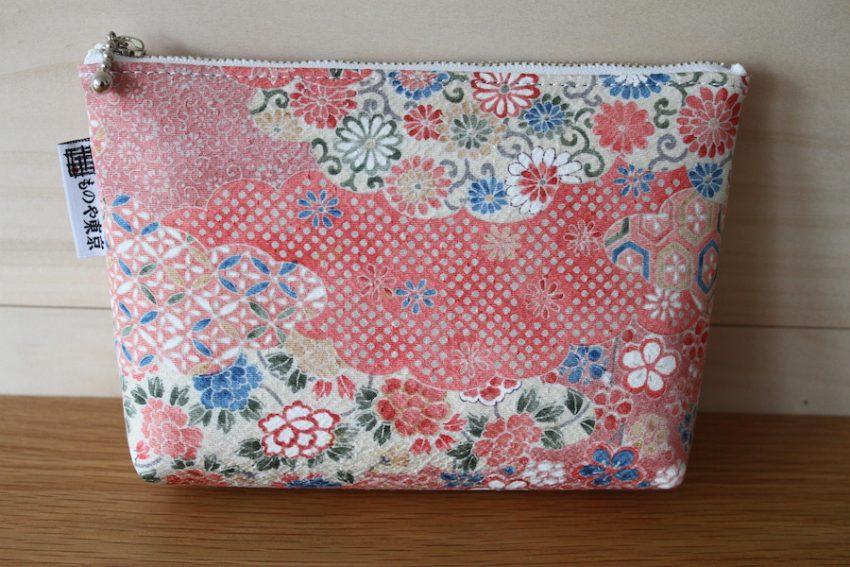 Pochette multi-usage – Kimono Rose